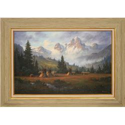 Heinie Hartwig, oil on canvas