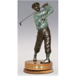 "Jerry Snodgrass, bronze, 21"" x 8 1/2"", Designated Driver"