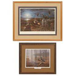 Darrell Davis, Terry Redlin, Ducks Unlimited prints