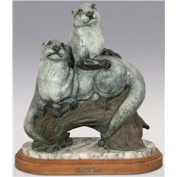 "Robert Ball, bronze, 23"" x 21"" x 13 1/2"", Rascals"