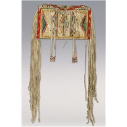 Blackfoot Parfleche Case, C. 1890s, excellent condition