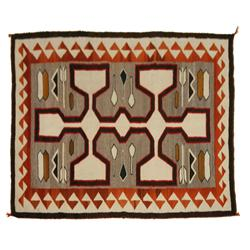"Navajo Weaving, 52"" x 42"", 1940s, excellent condition"