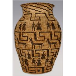 """Papago Olla, 20th century, 24"""" tall, 17"""" wide"""