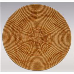 """Mission Basket, 14"""" diameter, early 20th century"""