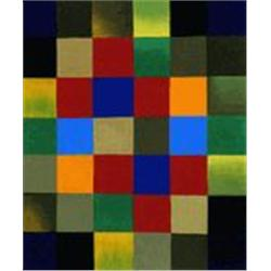 Klee  New Harmony  20x24 Signed Ltd Ed Oil on Canvas
