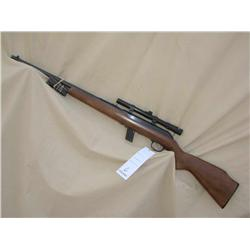 SAVAGE MODEL 64, 22 CAL SEMI AUTO, WITH SCOPE AND  3 MAGS (L)A4622, L322682