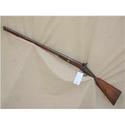 PERKINS SXS MUZZLE LOADING SHOTGUN, VERY GOOD  OVERALL, (PRE98)