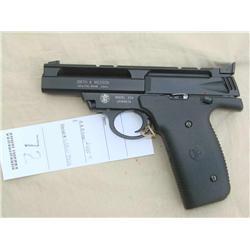 S&W MODEL 22A, 22 CAL SEMI AUTO, AS NEW IN BOX  (H)A4557, UAW9519