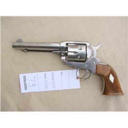 RUGER VAQUERO, 357 CAL, EXCELLENT OVERALL IN BOX,  TUNED FOR COWBOY ACTION SHOOTING, (H)A4613,  5822
