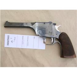 "H&R ""USRA"" SINGLE SHOT 22 LR, SIMILAR TO THE COLTS  ""CAMP PERRY"", RARE AND UNUSUAL, EXCELLENT  OVERA"