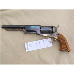 UBERTI 1847 WALKER, 44 CAL CAP AND BALL, CUSTOM  GRIP COVER, VERY NICE OVERALL(PRE98)