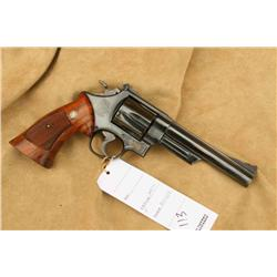 S&W MODEL 29-3, 44 MAG CAL, SLIGHT HOLSTER WEAR AT  MUZZLE END, 90-95% OVERALL, IN FACTORY BOX  (H)A