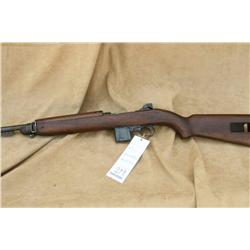 WINCHESTER M1 CARBINE, HAS WINCHESTER MARKED  BARREL, NICE CARTOUCHES IN WOOD, VG+ OVERALL  (L)A4755