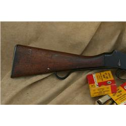 ENFIELD MARTINI HENRY 1887 IN .577-450  CAL, COMES  W 2 BOXS OF AMMO (14 TOTAL ROUNDS), GOOD OVERALL
