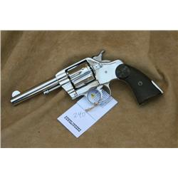 COLT DA 41, RENICKLED, GOOD OVERALL, GRIPS HAVE  CHIPS MISSING ON BOTH SIDES (PRE98)