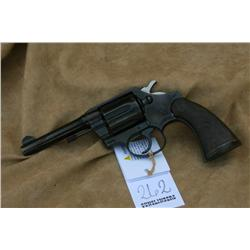 COLT POLICE POSITIVE IN 38 CAL, PITTING ON  RECIEVER AND BARREL, GOOD WORKING ORDER (H)A4639,  57784
