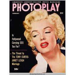 Marilyn Monroe Cover Girl Color Transparency Slide