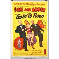 "Lum and Abner ""Goin' To Town"" Poster"