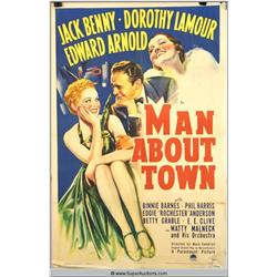 """Man About Town"" Poster"