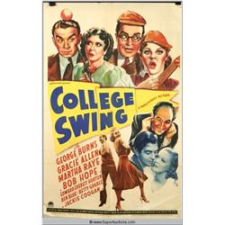 """College Swing"" Poster"
