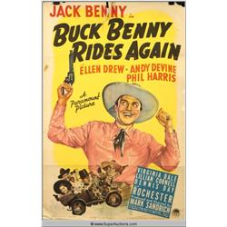 """Buck Benny Rides Again"" Poster"