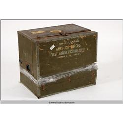 WWII First Motion Picture Unit Chest {Lou Dolgin Collection}