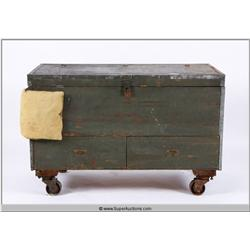 Army Air Forces First Motion Picture Unit Chest {Lou Dolgin Collection}
