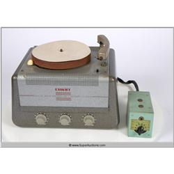 Knight Allied Radio Corp. Turntable