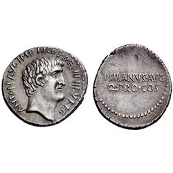 Roman Rep. M. Antonius and M. Junius Silanus. Denarius 33, AR 3.81g.