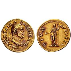Roman Empire. Galba, 68-69. Aureus Jul 68-Jan 69, AV 7.29g.