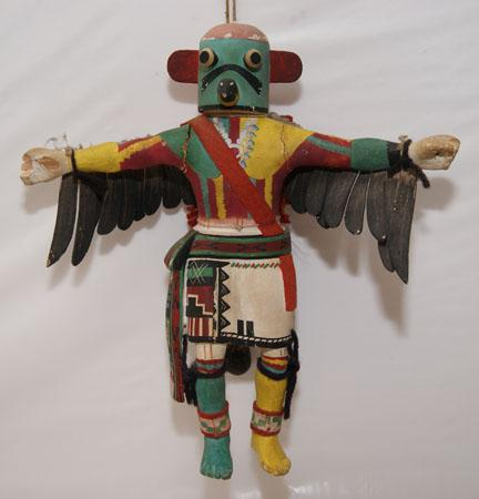 recipe: hopi eagle dancer kachina [14]