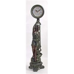 Seated Lady Pendulum Clock