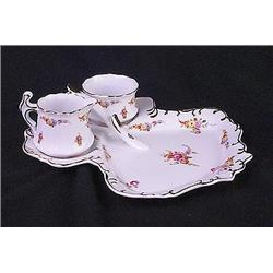 Porcelain Floral Berry Set