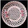 Porcelain Lattice FLower Tray