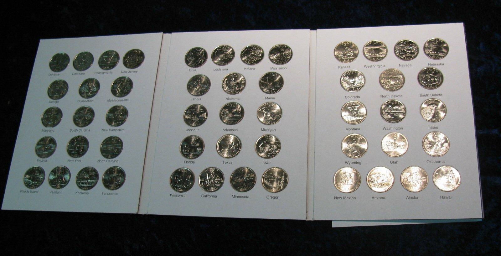 State Complete Commemorative Quarter Set In Marcus Coin - Complete 50 state quarter set