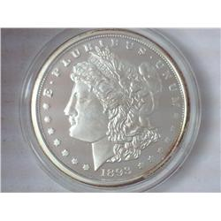 1893-O  Copy  Morgan Silver Dollar (Proof)