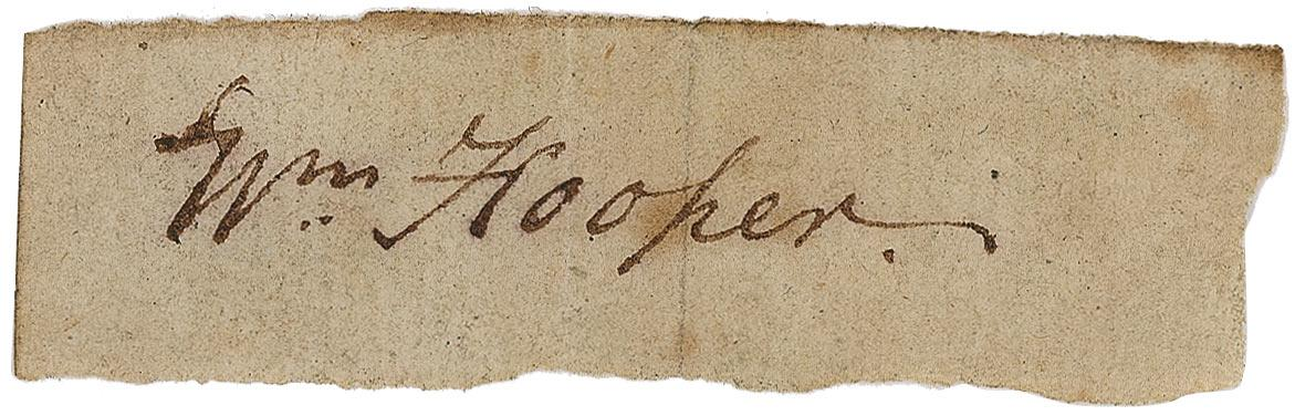 Image result for william hooper signature