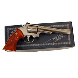 Smith &amp; Wesson Mdl 66-1 Cal .357mag SN:41K3973, Double action 6 shot revolver. Stainless steel const