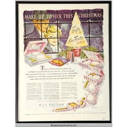 Make-Up Christmas Advertisement {Max Factor Collection}