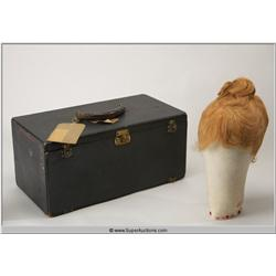 Wig / Wig Block / Carrying Case {Billie Burke}