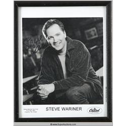 Autographed Picture of Steve Wariner