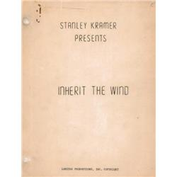 """Inherit The Wind"" Movie Script"