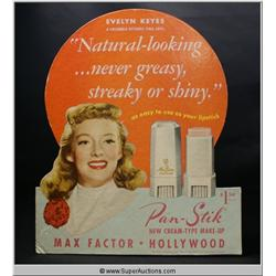Pan-Stik Standing Make-Up Advertisement {Max Factor Collection}