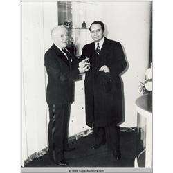 Edward G. Robinson Photographs and Negative
