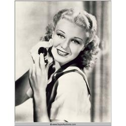 Ginger Rogers Photographs and Negatives