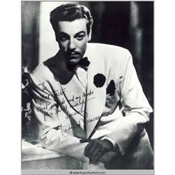 Cesar Romero Photograph of Autographed Negative