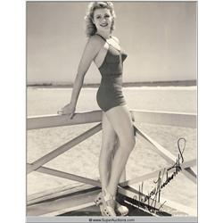 Marjorie Woodworth Original Autographed Photograph