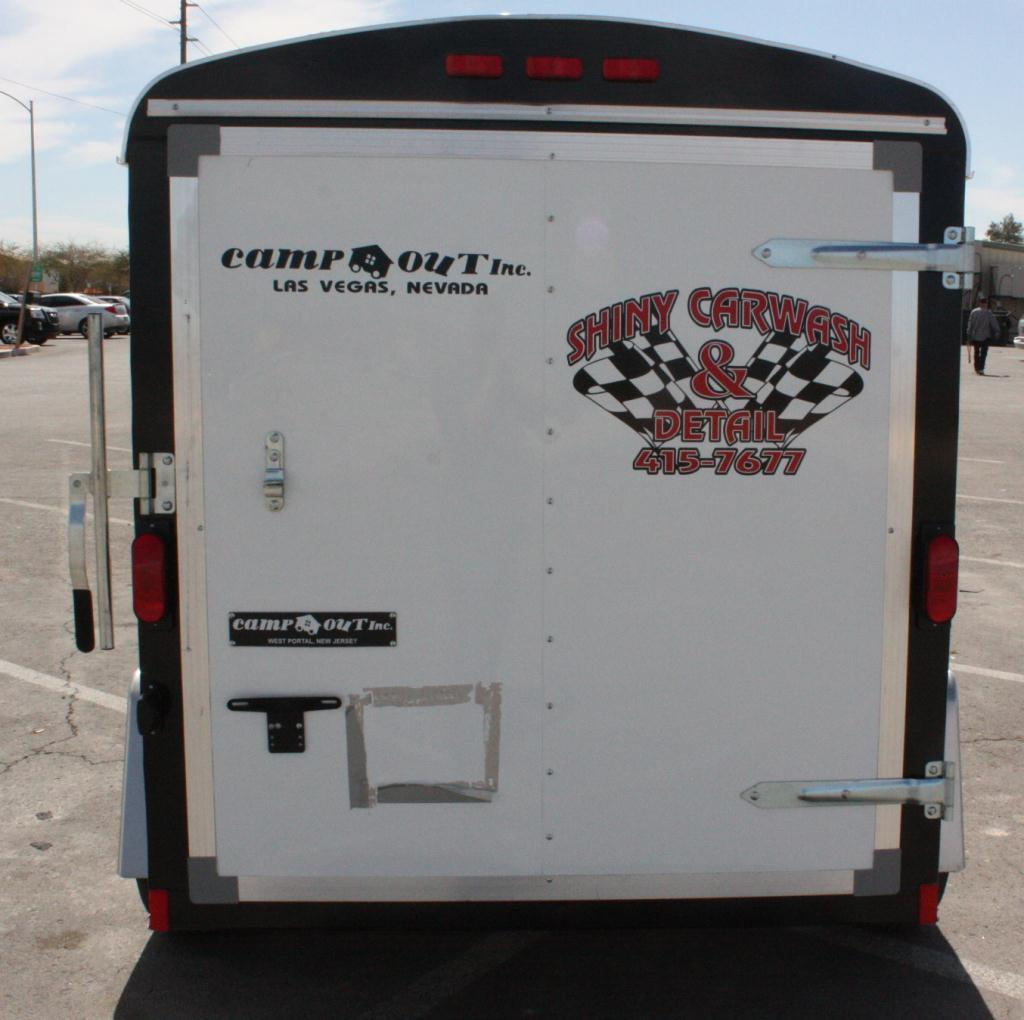 2009 Trailer Complete Mobile Car Wash