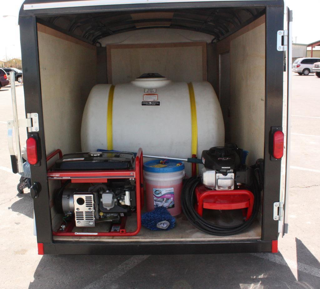 Used mobile auto detailing equipment for sale 15