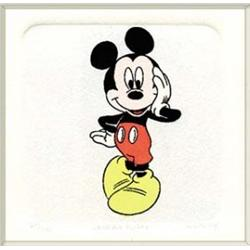 159: Licensed Disney Ltd. Ed. Hand Colored Etching